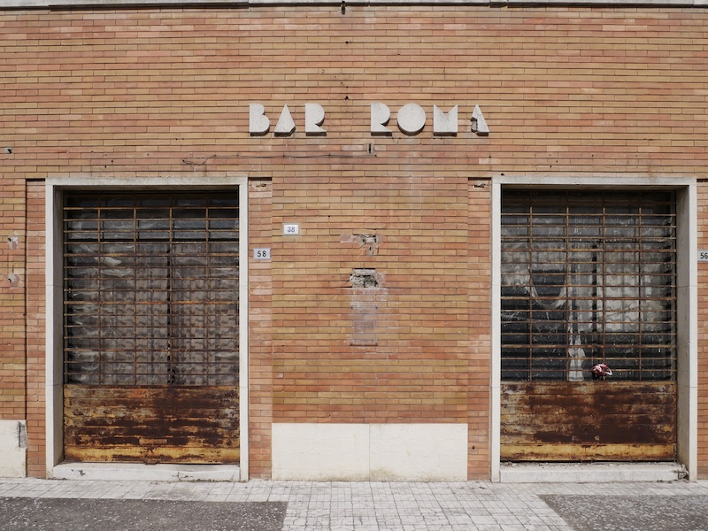Rationalist architecture, beauty, ideal city, Edmondo Rossoni, Emilia Romagna, Italy, Tresigallo, cultural tourism